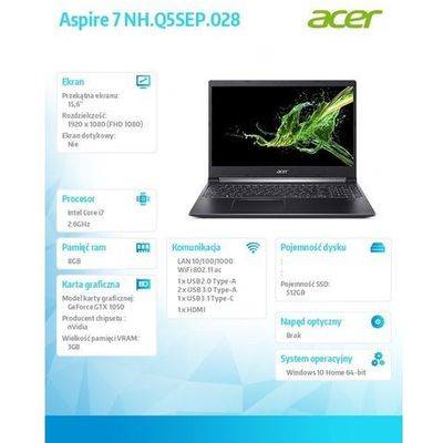 Laptopy Acer