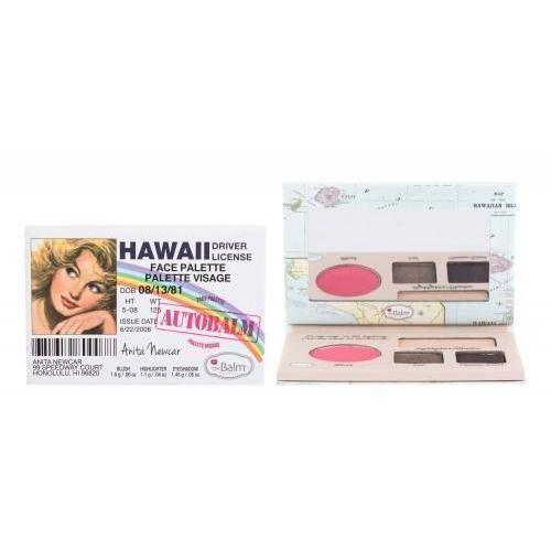 Autobalm hawaii zestaw face palette dla kobiet Thebalm - Promocja