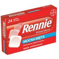 Tabletki RENNIE Antacidum x 24 tabletki