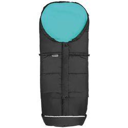 śpiworek do wózka monti 3v1, czarny/morski marki Emitex