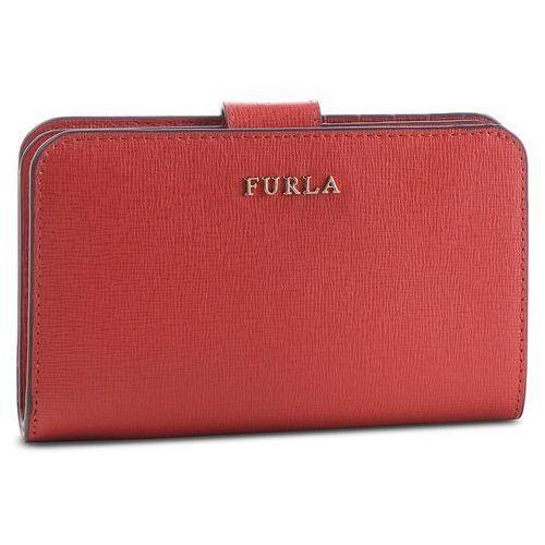 89725df960d76 Duży portfel damski - babylon 1000222 p pr85 b30 vermiglio f marki Furla