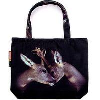 Torba seletti wears toiletpaper deer