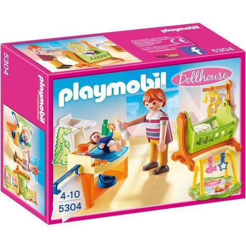 Playmobil DOLLHOUSE Pokój dla niemowlaka z łóżeczkiem 5304
