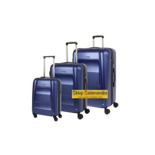 b4600e5afb42f ... koła materiał Policarbon zamek szyfrowy TSA, PC017 ABC. Komplet walizek PUCCINI  kolekcja PC017 NEW YORK zestaw duża + średnia + mała/ kabinowa 4