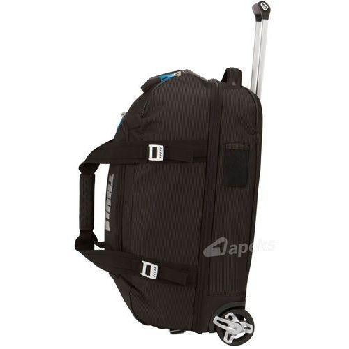 8eebb7e24d0db Thule Crossover Rolling Duffel 56L torba podróżna na kółkach / czarna -  Black - fotografia