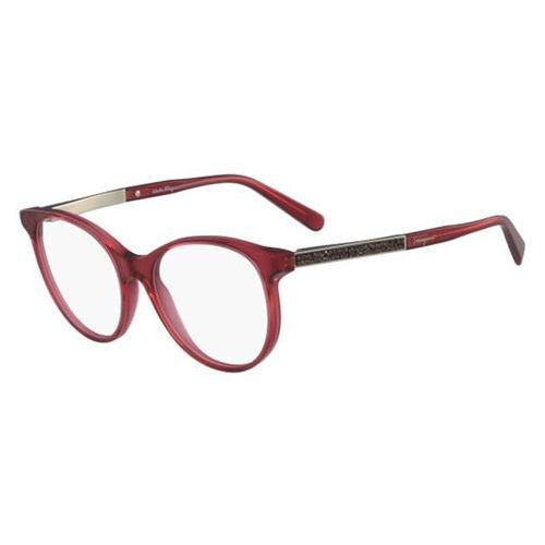 Salvatore ferragamo Okulary korekcyjne sf 2805r 613