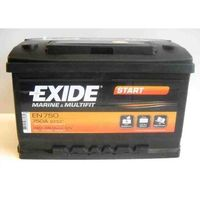 Akumulator 74Ah 680A Exide Start EN750