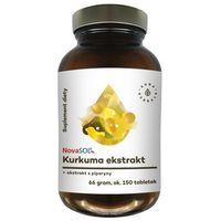 Kurkuma + Piperyna ekstrakt 66g (ok. 150 tabletek)