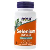 Now Foods Selen (Selenium) 200 mcg - 90 kapsułek