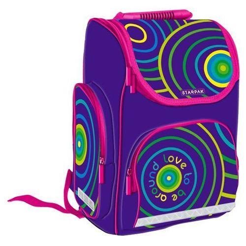 22c2f1a5f9a51 Zobacz ofertę Starpak Plecak szkolny girl ii 372850 - darmowa dostawa kiosk  ruchu