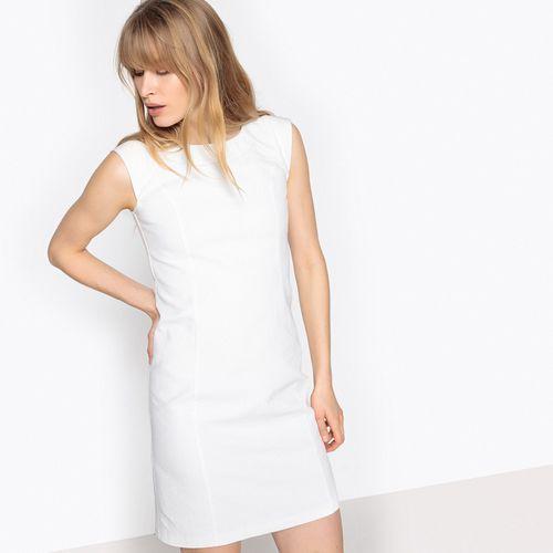 05cbe8d9 Prosta sukienka bez rękawów z koronką na plecach (La Redoute Collections)