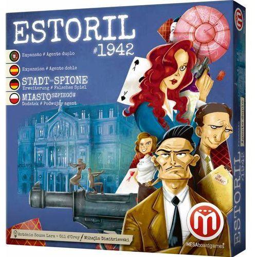 Miasto Szpiegów: Estoril 1942 - Podwójny Agent. Gra Planszowa, AM_5600243420884