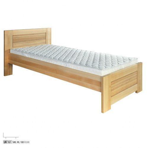 łóżko Bukowe Lk161 80x200 Koniak Drewmax