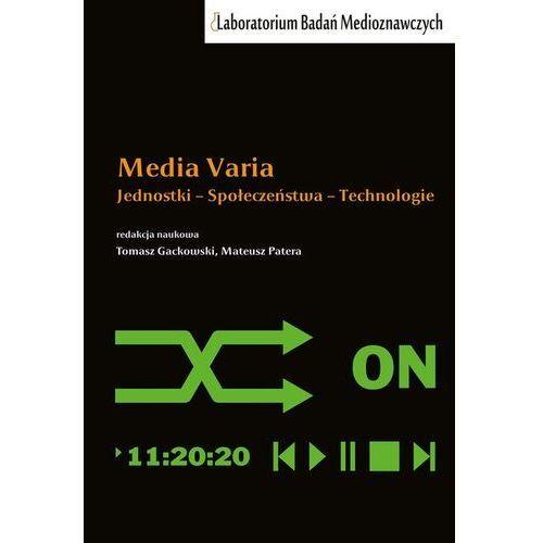 Media varia - red. tomasz gackowski, mateusz patera (2020)