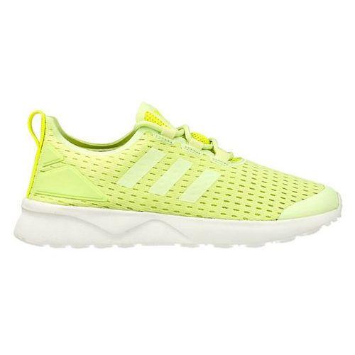 Adidas originals zx flux verve tenisówki i trampki halo/solar yellow