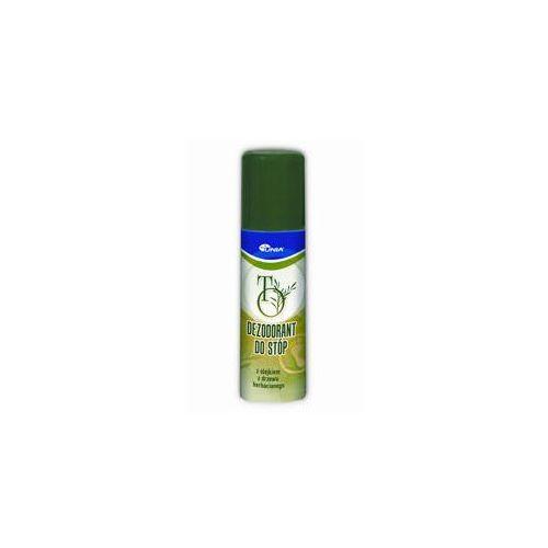 To dezodorant do stóp 60ml Unia zakłady farmaceutyczne - Promocyjna cena