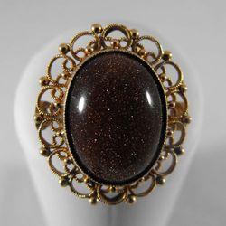Złoty pierścionek P1342