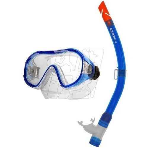 Zestaw do nurkowania junior + atol 11 Aqua-speed
