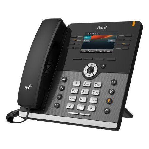 Telefon przewodowy IP Axtel AX-500W (AX-500W), do 12 kont SIP (5901986761396)