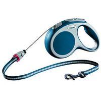 FLEXI Smycz automatyczna VARIO kolor: niebieski 3m - do 8kg