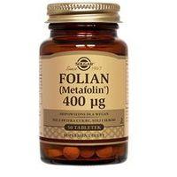 Tabletki SOLGAR Folian (Metafolin®) 400µg x 50 tabletek