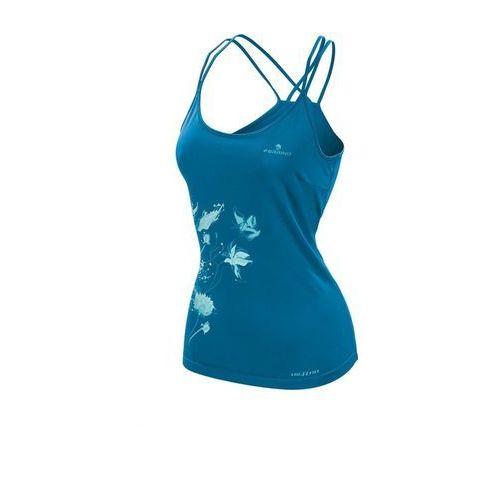 Ferrino podkoszulek damski kenai tank woman bright blue xl