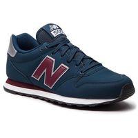 Sneakersy NEW BALANCE - GM500NAB Granatowy