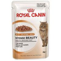 Royal canin 60 x 85 g mokra karma dla kota w super cenie! - intense beauty w galarecie