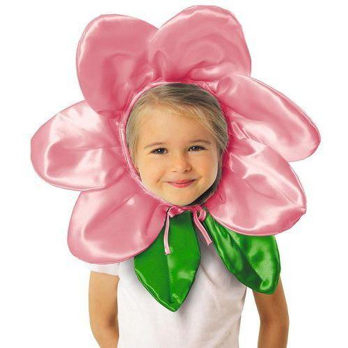 """Gam Czapka """"kwiatek"""" - różowy"""
