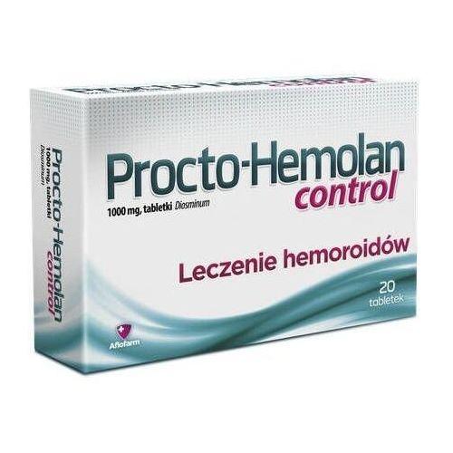 Procto-hemolan control 1000mg x 20 tabletek Aflofarm - Znakomita cena