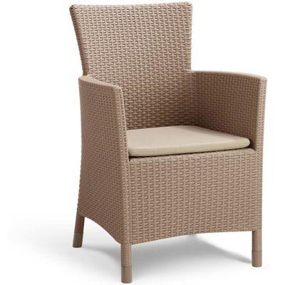 Krzesła ogrodowe Allibert vidaXL
