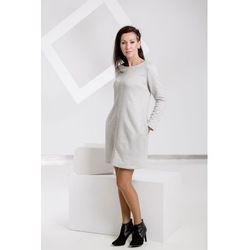Sukienka Silver Breath, kolor szary