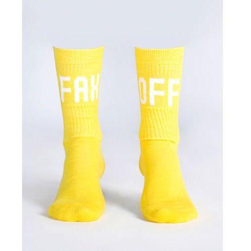 Fusain. socks żółty 41-45 Jakub polanka x bibloo