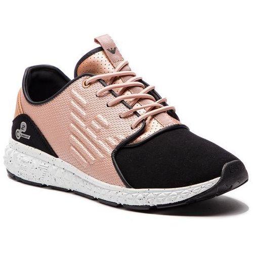 3c07ed06af95f Sneakersy - x8x013 xk016 a797 rose gold marki Ea7 emporio armani -  fotografia Sneakersy - x8x013
