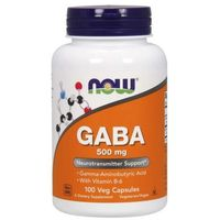 NOW Foods GABA 500 mg 200 kaps