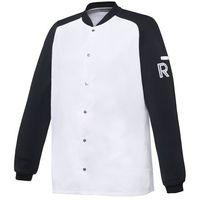 Robur Kitel, długi rękaw, rozmiar xs, biało-czarny | , vintage