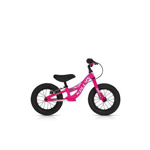 """Rowerek biegowy kite 12"""" race neon różowy z hamulcem marki Kellys"""