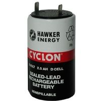 CYCLON CELL D 2,0V 2,5Ah Pb 34,4x61,2mm