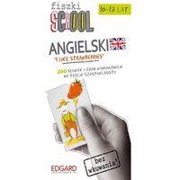 Fiszki SCHOOL Angielski Etap 1 I Like Strawberries, oprawa kartonowa
