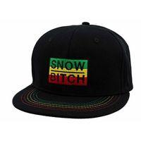czapka z daszkiem SNOWBITCH - Rasta (RASTA) rozmiar: OS