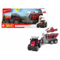 Dickie Pojazd farm traktor massey ferguson, 42 cm (4006333058929)