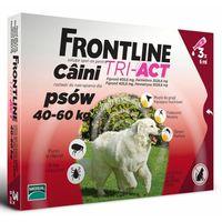 Frontline tri - act krople na pchły, kleszcze, owady latające 40-60kg- 3pipety marki Merial