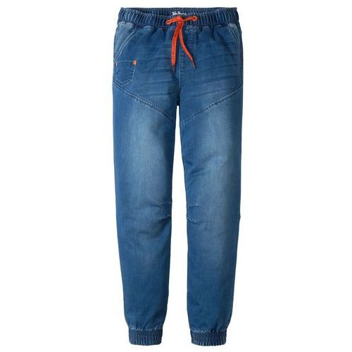 Spodnie Punto di Roma, szerokie bonprix czarny, jeansy