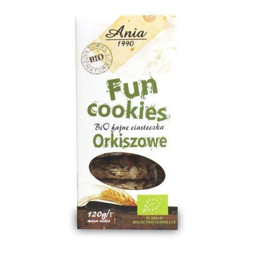 Ciasteczka Orkiszowe Fun Cookies bio 120g, 5903453004784
