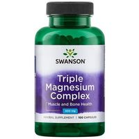 Kapsułki SWANSON Triple Magnesium Complex 100 kaps. / 400mg