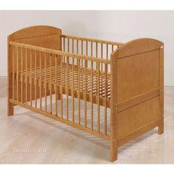 łóżeczko - tapczanik 70x140 cm brązowe marki Mamo-tato