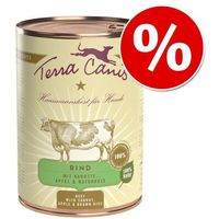 Terra Canis, 6 x 400 g w super cenie! - Pakiet mieszany| Darmowa Dostawa od 89 zł i Super Promocje od zooplus! (4260109620219)