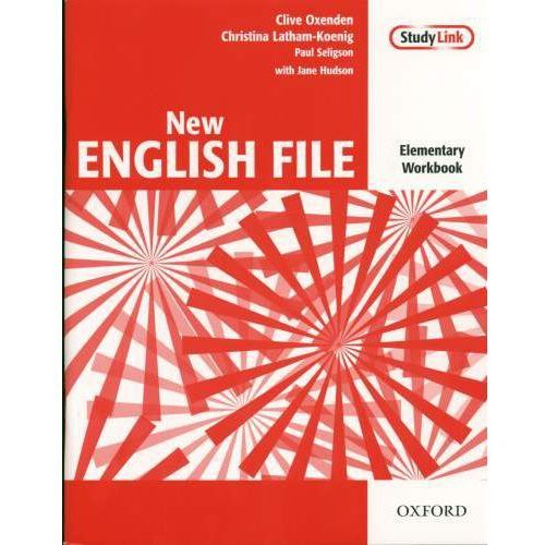 New English File elementary Workbook with key+Cd (80 str.)