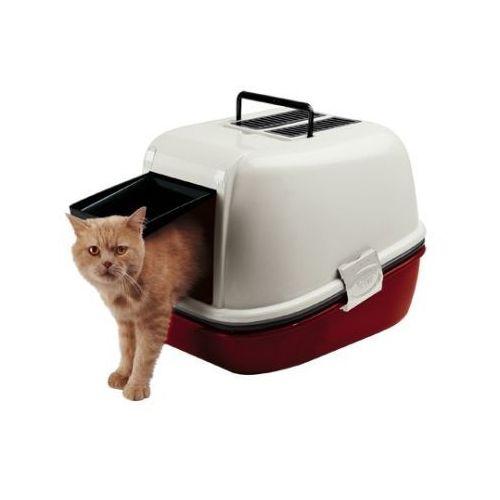 magix kuweta kryta przesiewowa z filtrem węglowym dla kotów marki Ferplast