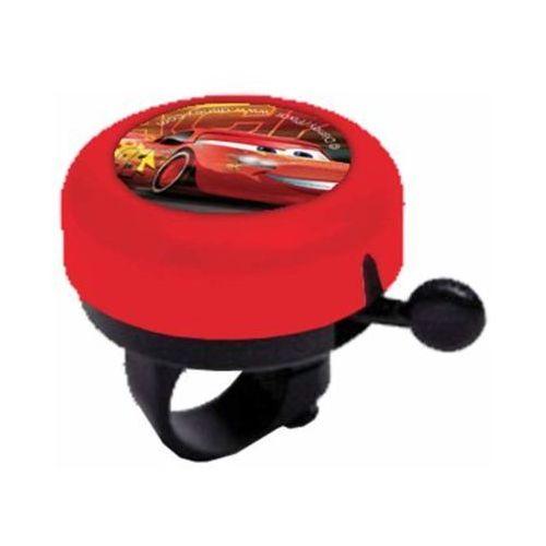 Disney Dzwonek rowerowy auta 3 czerwony